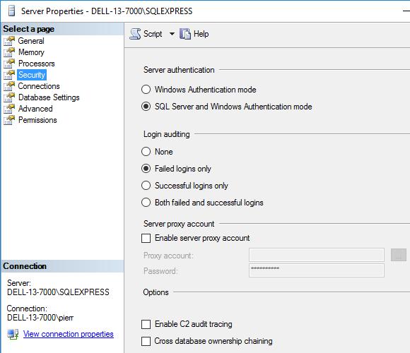 Bases de données > Accéder à une base QDV7 avec SQL Server